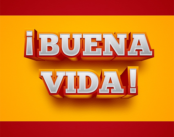 How to Create a Spain - Inspired Text Effect in Adobe Illustrator