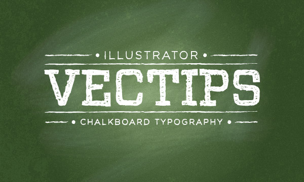 How to Create a Chalkboard Vector