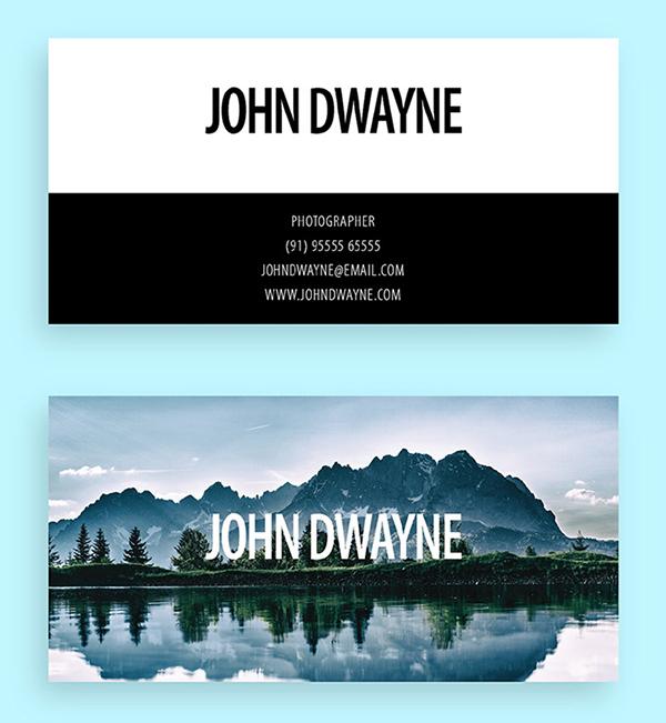 Creative Photography Business Card Templates