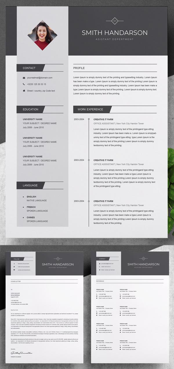 Creative & Stylish Resume Template