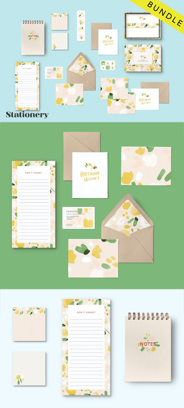 Stationery Mockup Bundle