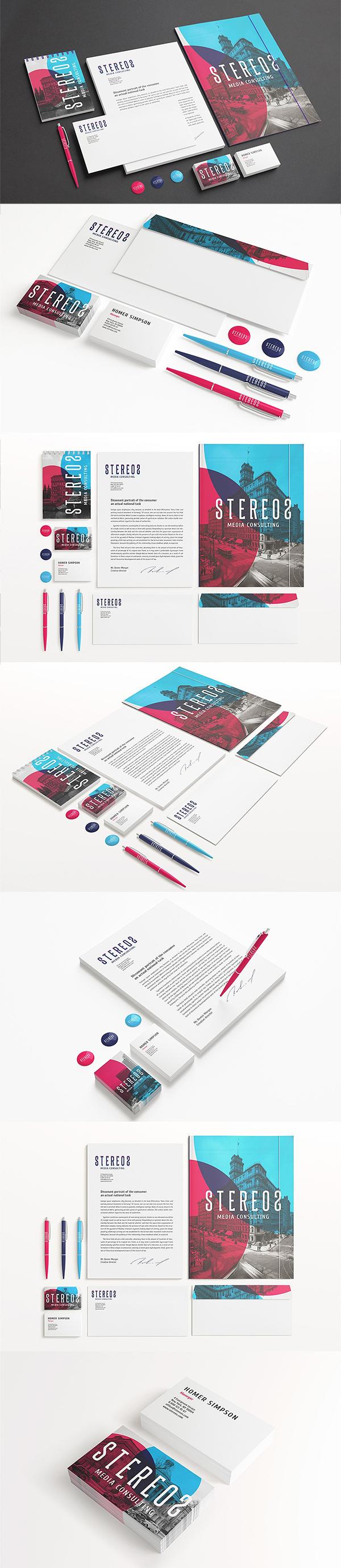 Amazing Stationery / Branding Mockups set