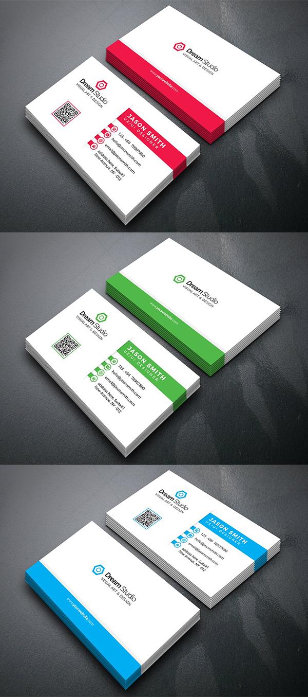 Simple Business Card Template Design