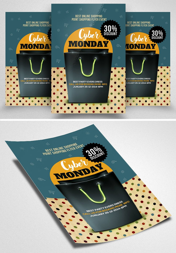 Cyber Monday Flyer Template