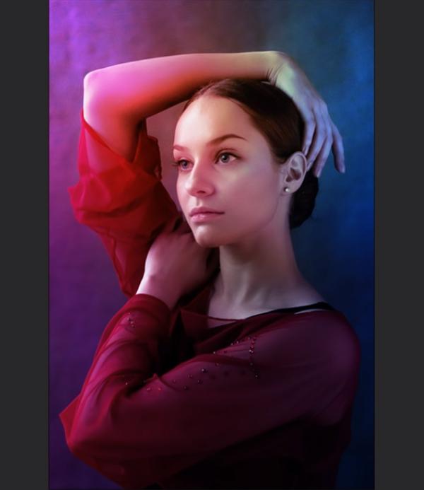 Neon Lighting Studio Effect in Photoshop