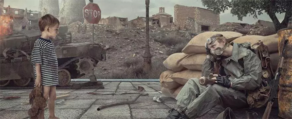 How to Create A World of War Scene