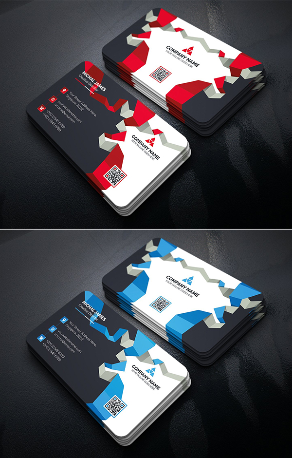 Cool Business Card Template Design