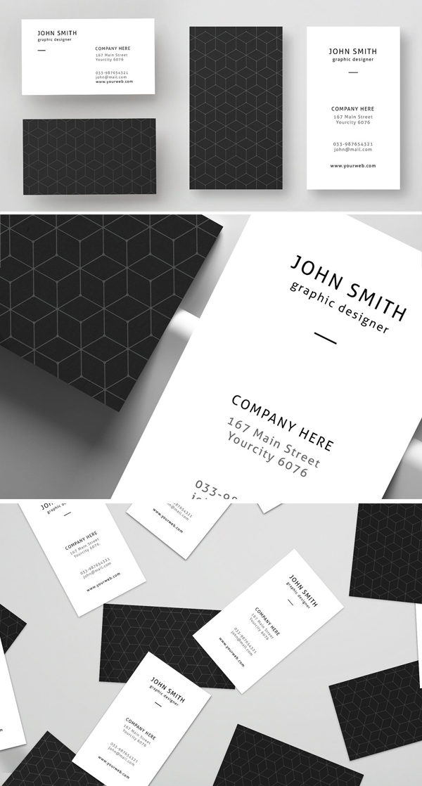 Corporate and Personal Business Card Design