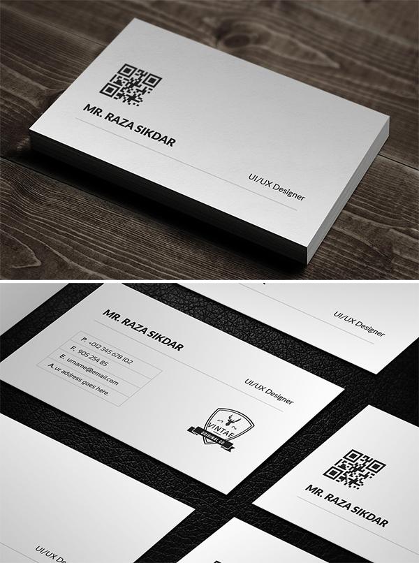 Elegant & Creative Business Card Design