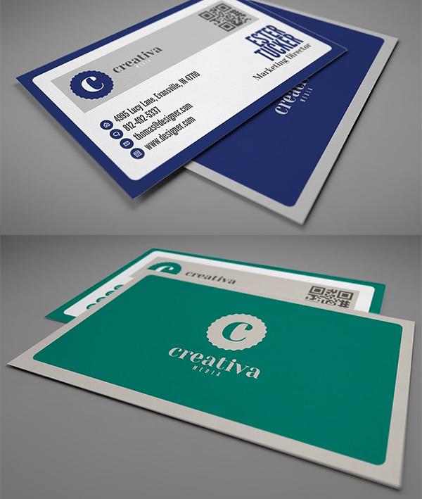 Clean Business Card Templat