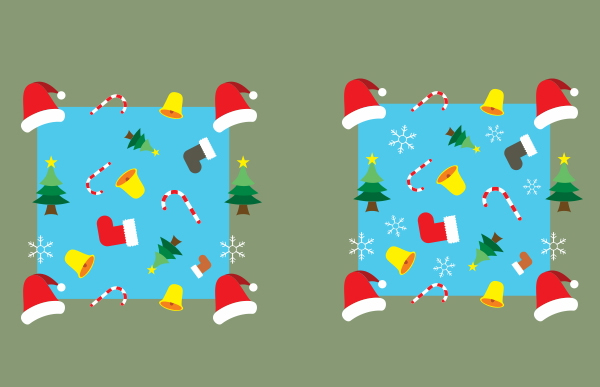Create Christmas pattern in Corel Draw