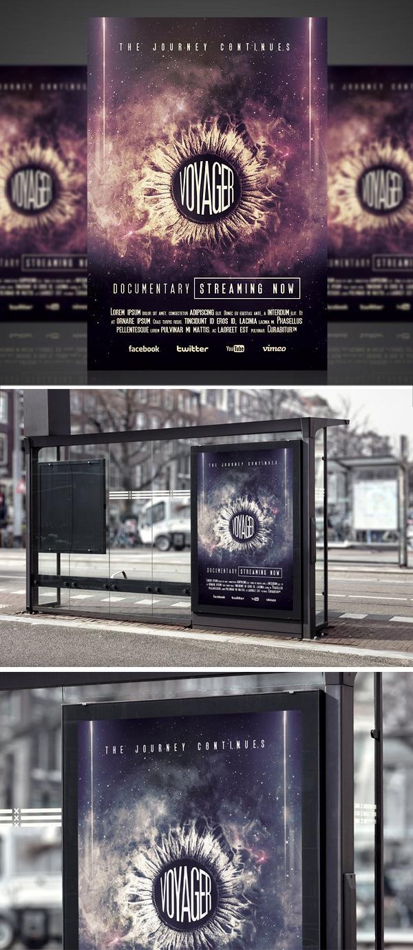 Voyager - Flyer / Poster