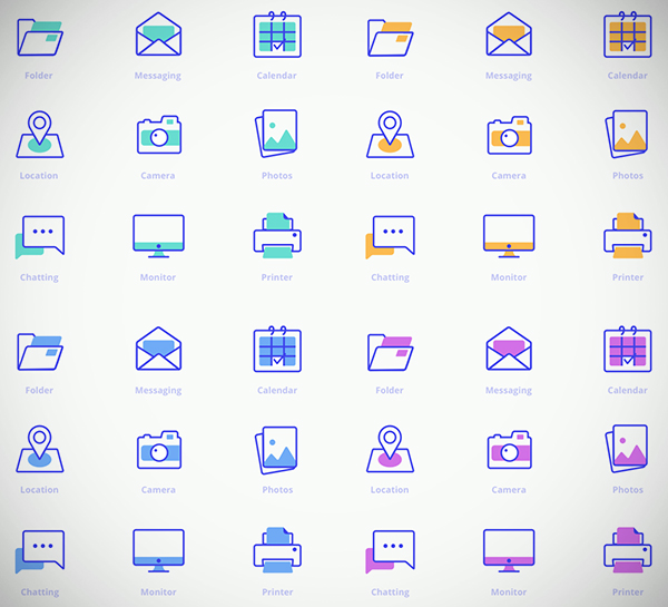 Freebies Office Icons Pack