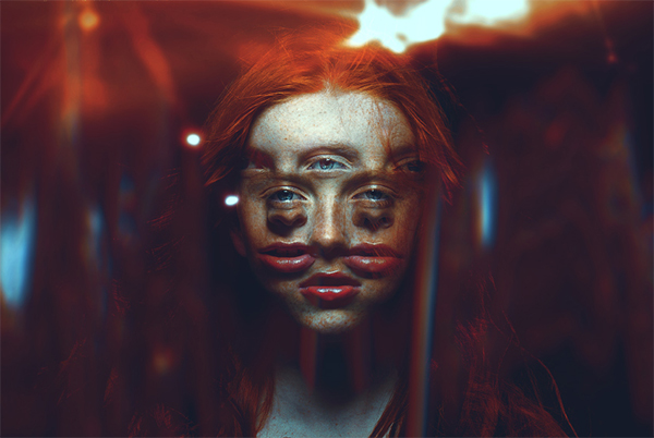 How to Create an Abstract Diamond Lens Effect in Photoshop
