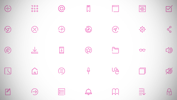 Elegant Free Icon Collection
