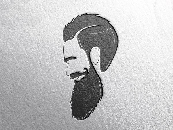 Bearded Man Logo Design