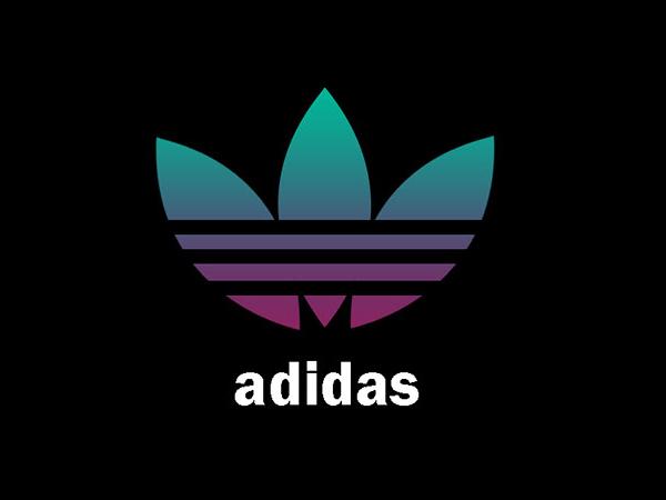 Creative Adidas Logo Design