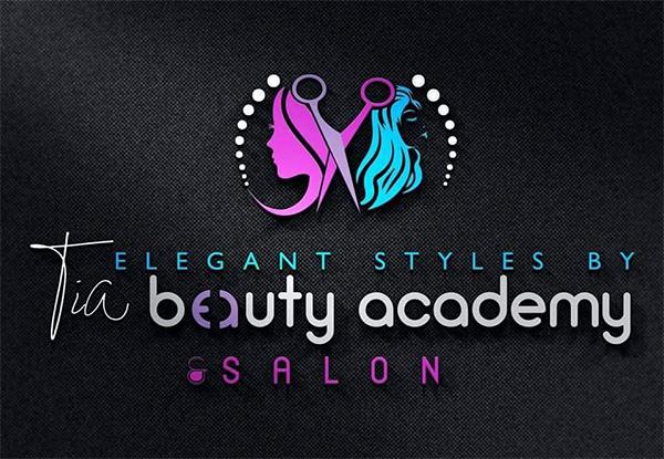 Elegant Beauty Salon Logo Design