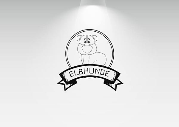 Elbhunde Logo Design