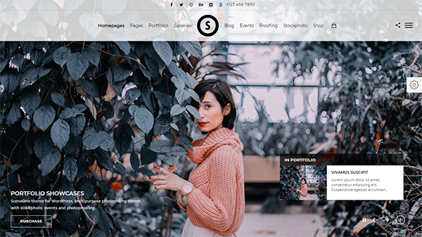 SceneOne | Photography Theme for WordPress
