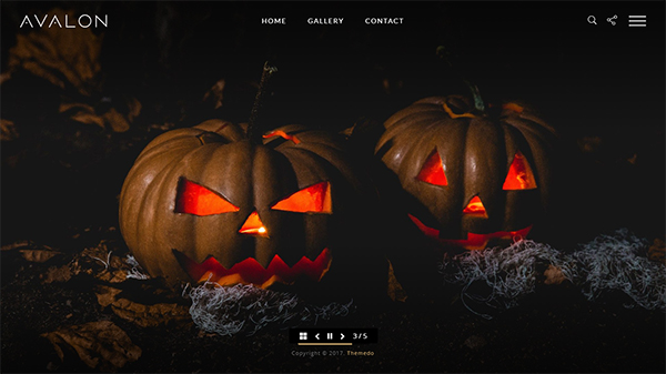 Avalon - Photography and Portfolio WordPress Theme for Photographers