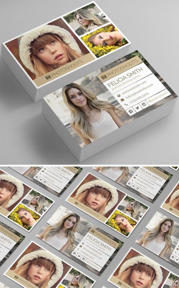 Photographer Business Card Template