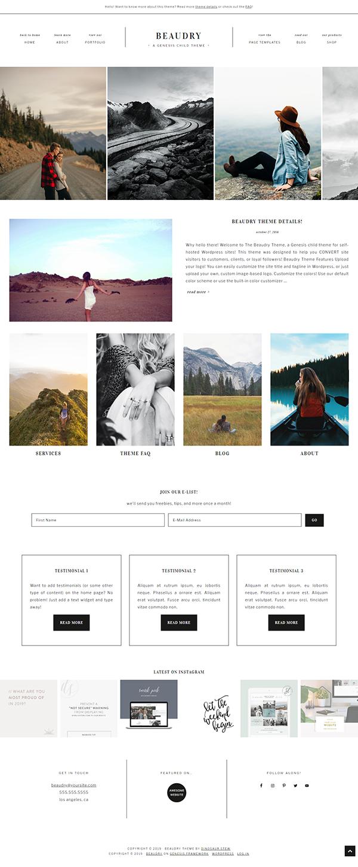 Beaudry WordPress Theme