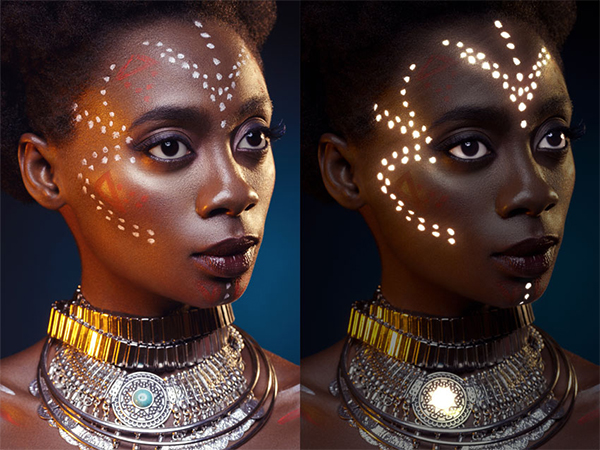 How to Add a Glowing Photo Effect to a Portrait in Photoshop