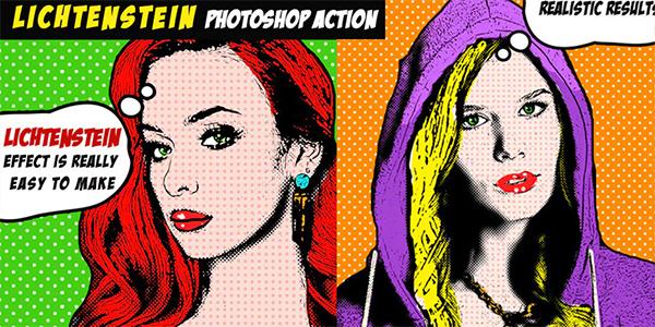 Pop Art Portrait Photoshop Tutorial