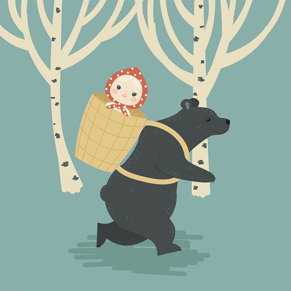 How to Create Masha and the Bear in Illustrator