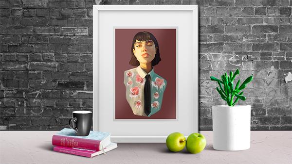 Illustration: Create a Digital Portrait