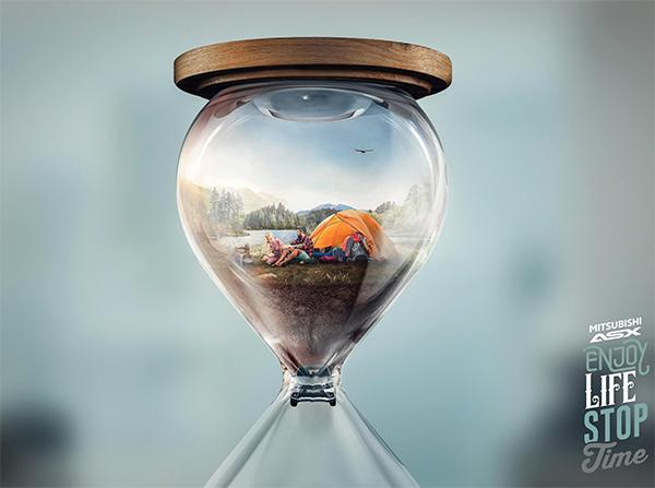 Hourglass - Lake