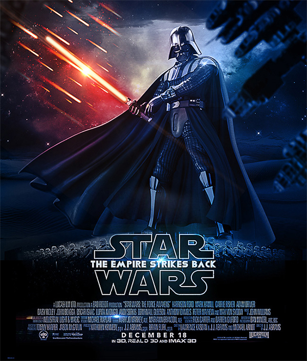 Star Wars Movie Poster Photoshop Tutorial
