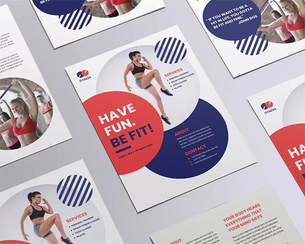 Fitness Trainer Coach Flyer