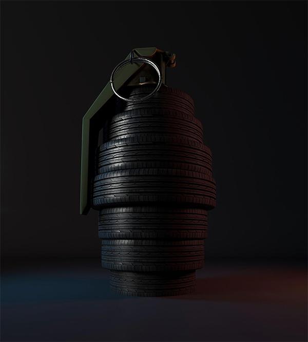 Worn Tires - Najm
