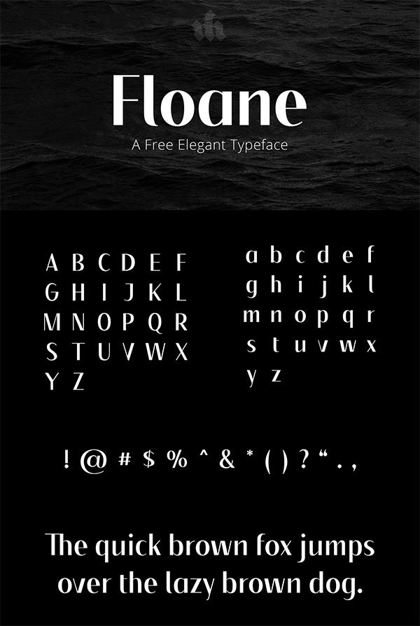 Floane Sans Serif Free Font