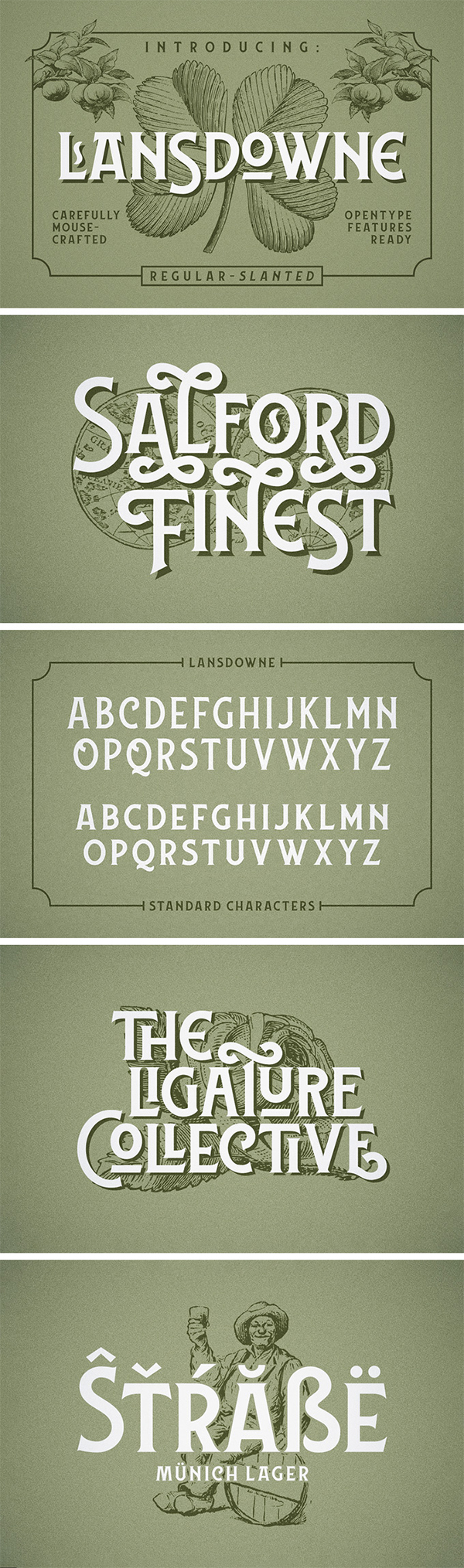 Lansdowne Decorative Free Font