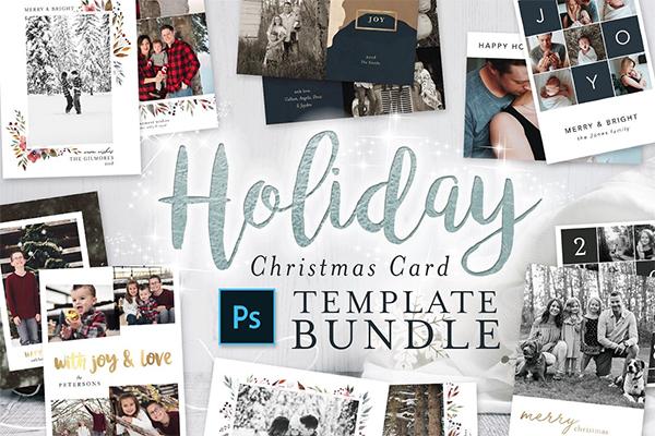 Holiday Christmas Card Bundle