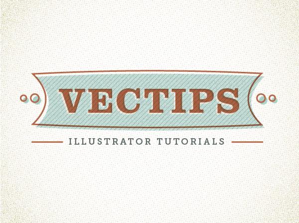 Retro Text Vector Sign