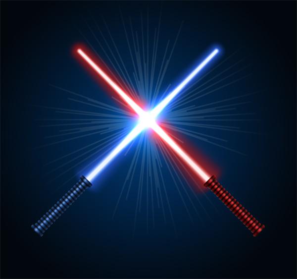 Create Lightsaber Vector in Adobe Illustrator