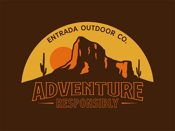 Desert Adventure Logo Design