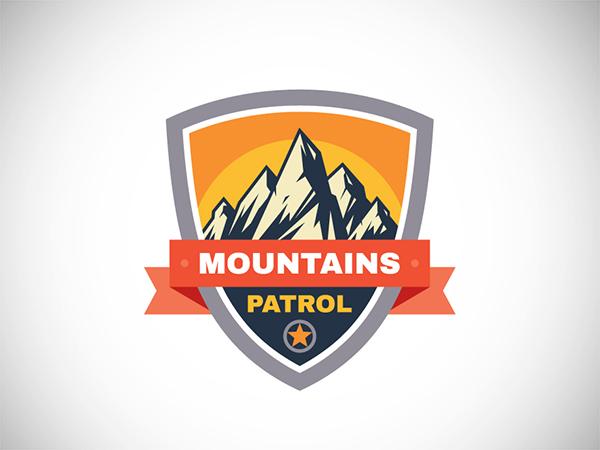 Mountains Patrol Badge