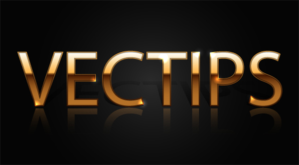 How to Create a Gold Text Effect and Graphic Style in Illustrator