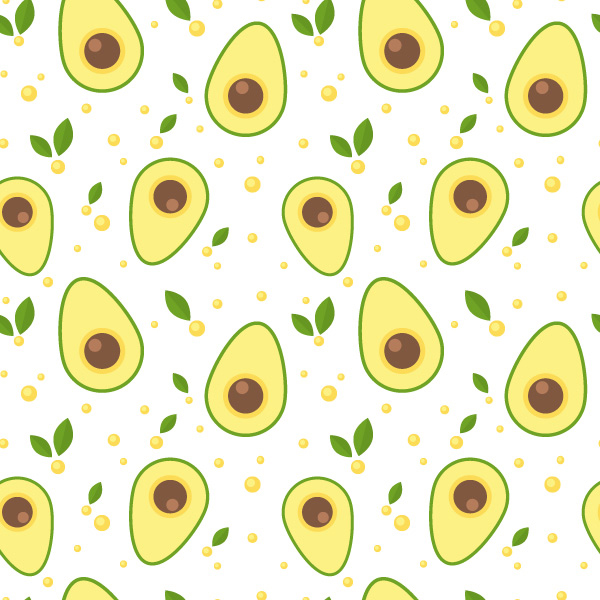 How To Design a Seamless Avocado Pattern in Adobe Illustrator