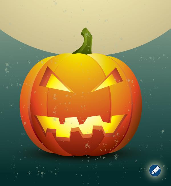 Create a Halloween Pumpkin Icon