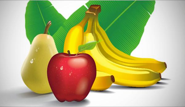 Realistic Tropical Fruits