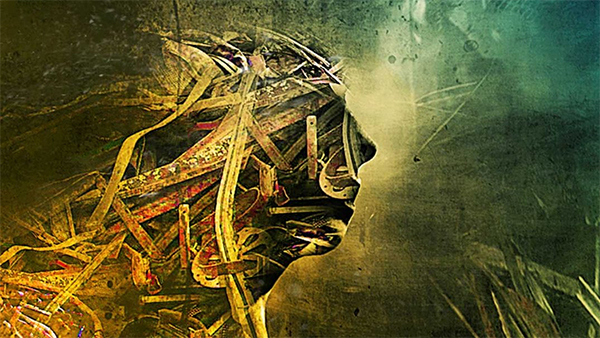 Design Human Face Covered with Metal Effect in Photoshop