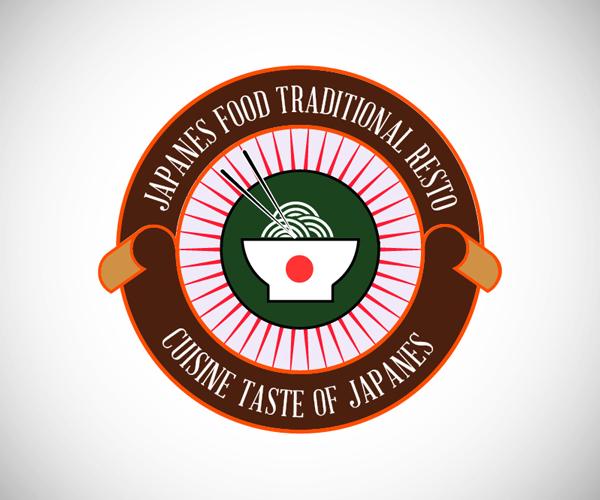 Badges Japanes Food Logo