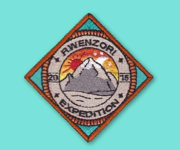 Hiking Badges Logo