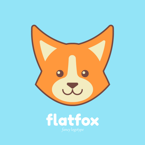 How to Create a Simple & Cute Fox Logotype in Adobe Illustrator
